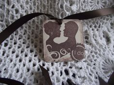 Vintage  Distress  Gift  Tags  Adorn With  Brown by ShoppeLaFluer, $17.00