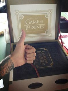 {@mybrandonboyd: Merry Xmas to me!? Thanks for this @GameofThrones and @47North Fantasy Nerd Out starting...now}