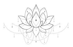 lotus - I like the simple outline (without all the dangly parts)