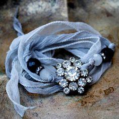 ❥ silk bracelet