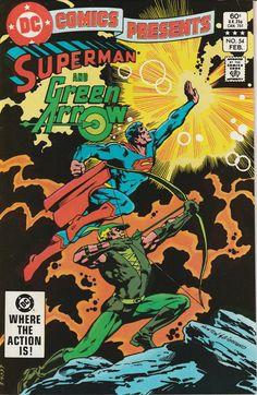DC Comics Presents Vol. 6 No. 54 1983 Superman and Green Arrow by TheSamAntics