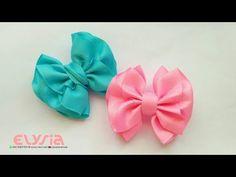 Ruffle Ribbon Bow | DIY by Elysia Handmade - YouTube