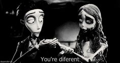 gif love relationship couple cute quote Black and White sad quotes movie creepy hipster vintage alone indie bw cats Grunge animated heart bride bored weheartit corpse bride boredom Tim Burton Corpse Bride, Tim Burton Style, Animated Heart, Film Aesthetic, Beetlejuice, Stop Motion, Cute Quotes, Sad Quotes, Johnny Depp