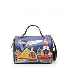 World Tour Boston Bag - Braccialini