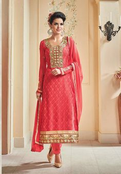 Planning to attend a Wedding or a Family Function!! Pick from our #partywear Indian Dresses at threadsnhues.com