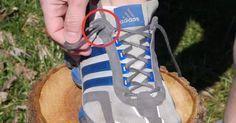 Bien attacher ses lacets pour ne pas que le pieds flotte dans nos baskets : Astuce !!!