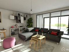 simple and cosy living-room, what do you think about it?