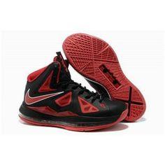 www.anike4u.com/ Cheap Nike Lebron 10 Red Black