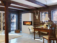Brunner wood stove.