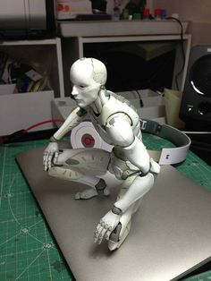 Posable figure for the desk and to use for drawing reference.
