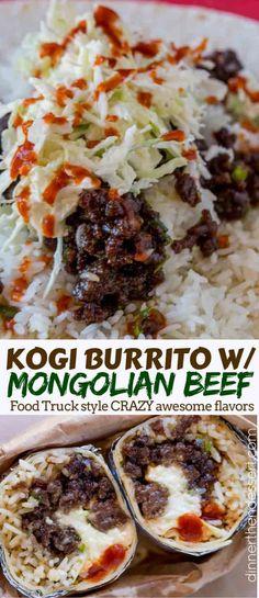 Mongolian Beef Burri
