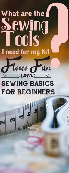 I love this simple straightforward advice for must have sewing tools. Nothing fancy but a great list of times needed to complete most sewing projects and tutorials . I love it when DIY instructions also come with a video like this one.