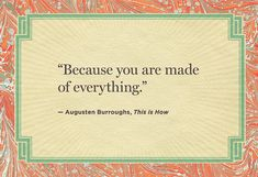 'This Is How' ~ Augusten Burroughs    The best last lines from novels.  #books #novels #quotes