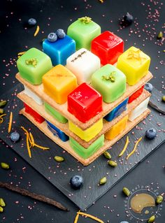 Entremet Rubik's cube