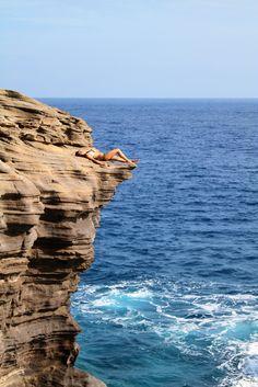 Cliffs by the beach!