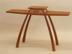 Unique Hallway Tables kubista hall table | northwest woodworkers gallery | natural wood