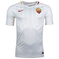 AS Roma Away Soccer Jersey 17/18 This is the AS Roma Away Football Shirt 17/18. Introducing a clean design in white, red and yellow, the Roma 2017-2018. Based on the Nike Vapor Aeroswift template, the Roma 2017-18 away jersey is white with a graphic print on the front, as well as red and yellow detailing […]