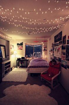 Christmas Lights Bedroom String Fairy Fairylights Room