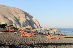 Perissa Beach, Thira Santorini