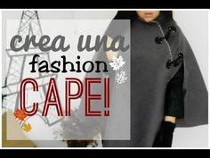DIY- CREA UNA CAPA FASHION/ OTOÑO-INVIERNO 2014