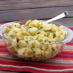 Three ingredient parsley potatoes - I love easy & impressive side dishes