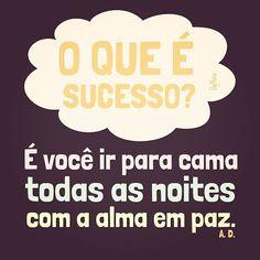 O que é sucesso?