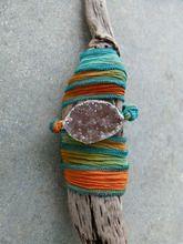 Druzy Tie-Dyed Wrap Bracelet