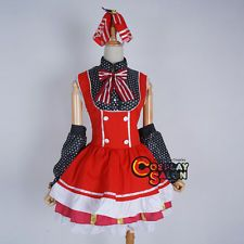 LoveLive Dress Nishikino Maki Women Lolita Skirt Anime Cosplay Costume Outfits
