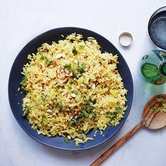 Spiced Jasmine Rice Pilaf Recipe - Bon Appétit
