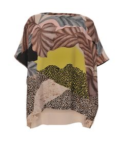 DVF printed kaftan t-shirt! - Avaliable at Stanwells.com
