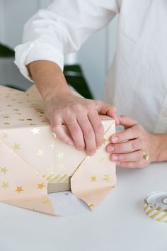 A step-by-step guide to wrapping the perfect present