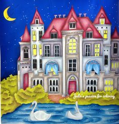 Romantic country by Eriy Colored by Julie's passion for coloring