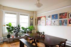 Derek & Ashley's Artistic, Quirky & Sentimental Seattle Apartment