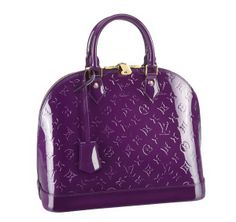 b139caef7a9c Louis Vuitton Monogram Vernis Alma MM M90099 Amethyste -  209.00 Louis  Vuitton Scarf