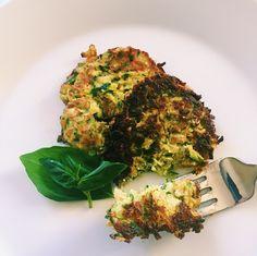 Zucchini Fritters — balance with b --- 6 small organic zucchini 3 ...