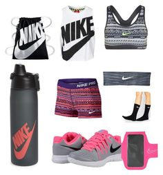 """Nike Gym Wear"" by kennedy-keith on Polyvore featuring NIKE"