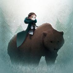 Lyanna Mormont by Rawder-Beoluve Lyanna Mormont, Lady Mormont, House Mormont, Game Of Thrones Tv, Cosplay Diy, Winter Is Coming, Painting Inspiration, Concept Art, Character Design