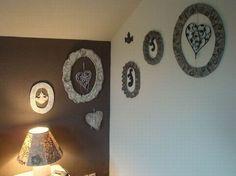 Decoration, Wall Lights, Creations, Home Decor, Cartonnage, Frames, Tutorials, Homemade Home Decor, Decorating