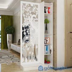 Living Room Partition Design, Room Partition Designs, Home Room Design, Living Room Designs, Diy Room Divider, Divider Ideas, Room Dividers, Sliding Door Wardrobe Designs, Wooden Sofa Set Designs