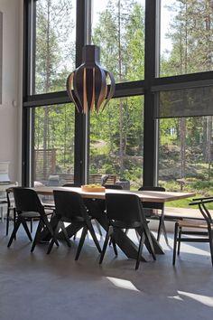 Love the big windows Big Windows, Sweet Home, Villa, Dining Room, Interior Design, Future, House, Nest Design, Future Tense