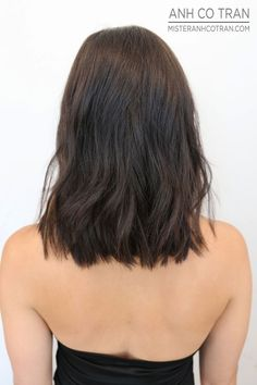 NYC: AN EXTREMELY FLATTERING CUT. Cut/Style: Anh Co Tran. Appointment inquiries please call Ramirez|Tran Salon in Beverly Hills: 310.724.8167