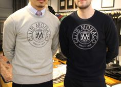 Recycled and reinvented - have you seen Club Monaco's 'Reigning Champ' statement sweatshirts? #HarrodsMen