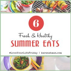 "Hi Friends, Clare here. A lot of you are looking for snacks and meals that are healthy that you can eat during the summer. What I define as ""good food"" to eat during the summer includes… Top Recipes, Summer Recipes, Healthy Summer, Summer Food, Good Foods To Eat, Love Your Life, Menu Planning, Best Mom, Diet Tips"
