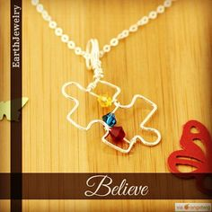 Puzzle piece for autism in sterling silver and Swarovski crystals.     SHOP URL IN BIO    Shop: EarthJewelry. Check out our products now: http://ift.tt/2pm9slR . . .  #etsy #etsyseller #etsyshop #etsylove #etsyfinds #etsygifts #musthave #loveit #instacool #shop #shopping #onlineshopping #instashop #instagood #instafollow #photooftheday #picoftheday #love #OTstores #smallbiz #earthjewelry #puzzlepieceforautism #puzzlepiece #autismjewelry #autismawareness