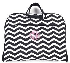 Monogrammed Garment Bags