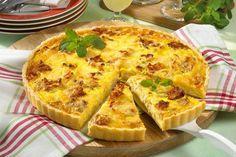 Ciasto cebulowe z boczkiem idealne na obiad Polish Recipes, Polish Food, Cookie Desserts, Cake Cookies, Food And Drink, Veggies, Appetizers, Treats, Snacks