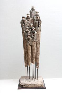Foto's van Jikke van de Waal – Bijma Keramiek Ceramic Figures, Clay Figures, Sculptures Céramiques, Sculpture Art, Ceramic Clay, Ceramic Pottery, Arte Tribal, Pottery Sculpture, Ceramic Animals