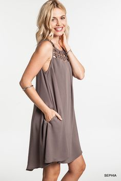 Day To Night Babydoll Dress - Three Colors Available - Arriving 2/15