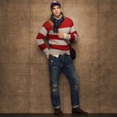 Love it! | Rugby Boat Neck Cable Knit Sweater