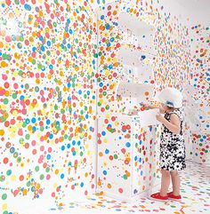 From all white walls to this    http://www.toxel.com/inspiration/2012/03/20/room-covered-with-stickers/